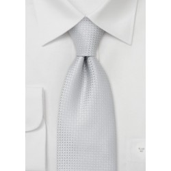 Solid color ties -  Light gray-blue necktie