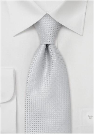 Solid color ties -  Light gray-blue necktie