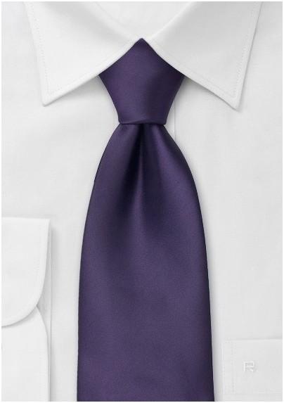 Purple neckties - Solid color purple tie