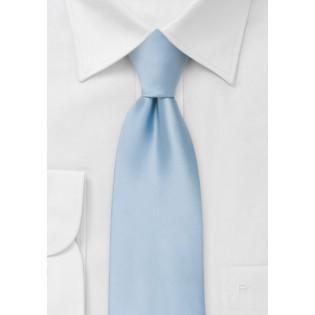Solid light blue ties - Light blue men's necktie