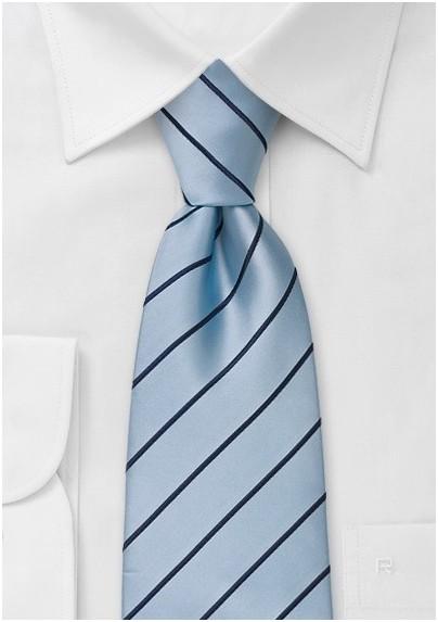 Light Blue Neckties - Modern light blue tie