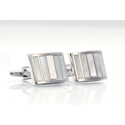 Formal Cufflinks - Mother of Pear Cufflinks