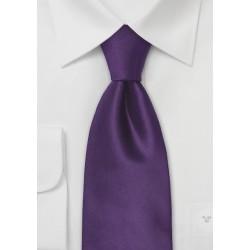Indigo-Purple Silk Necktie
