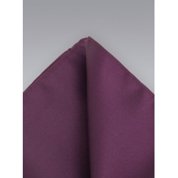 Wine Red Pocket Square