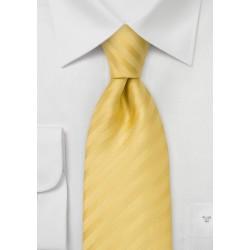 Lemon Yello Silk Necktie