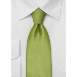 Sage Green Kids Necktie