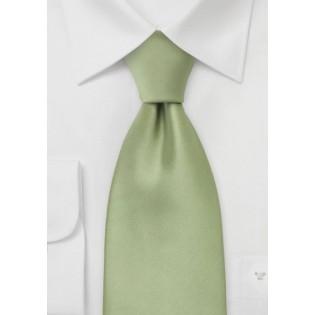 Solid Tea Green Neck Tie