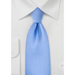 Bright Sky Blue Necktie