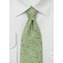 Emerald Green Designer Tie by Chevalier