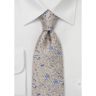 Champagne Silk Tie by Chevalier