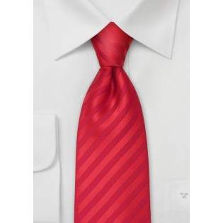 Bright Red Kids Necktie