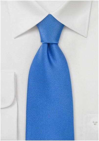 Solid Color Ties Bright Blue