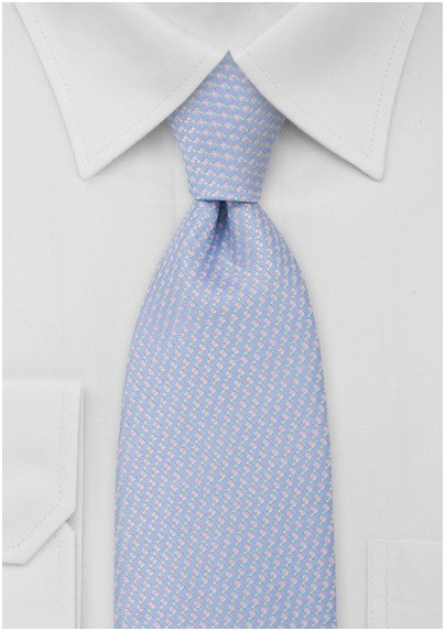 Light Blue and Pink Necktie