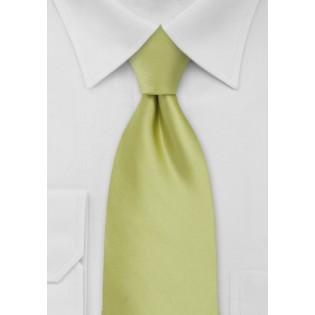 Light Pear Green Necktie