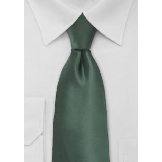 Pine Green Mens Necktie