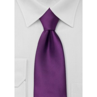 Bright Purple Necktie