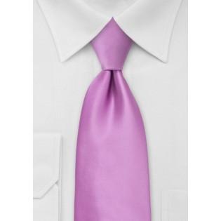 Lilac Rose Mens Necktie