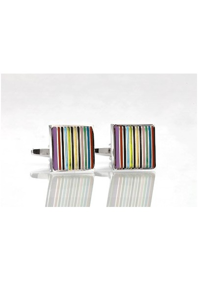 Trendy Colored Cufflinks