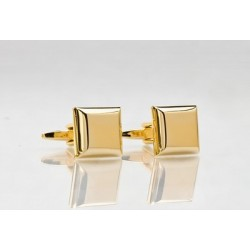 Golden Square Cufflinks