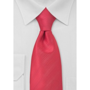 Watermelon Red Necktie