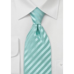 Silk Tie in Mint-Green