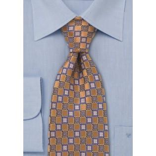 Burnt Orange Designer Tie