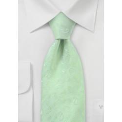 Keylime Paisley Tie