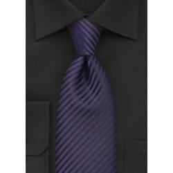 Dark Purple Mens Tie