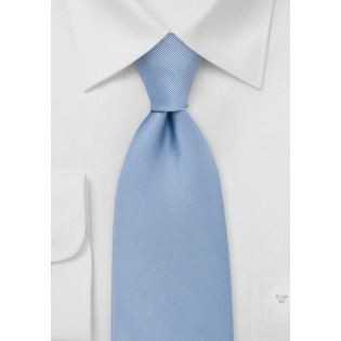 Textured Pool Blue Tie