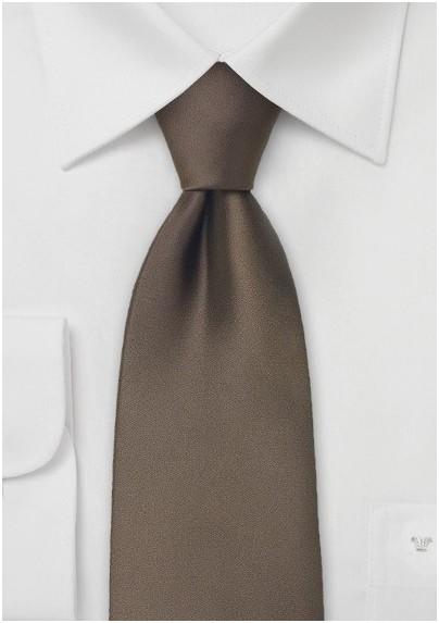 Chestnut Brown Tie