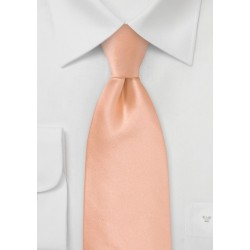 XL Tie in Coral Peach
