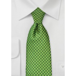 Sycamore Green Checkered Tie