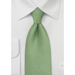 Textured Green Tie