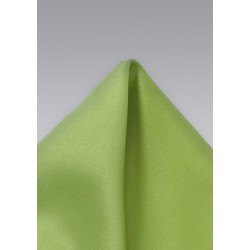 Apple Green Pocket Square