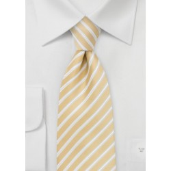 Harvest Yellow Striped Tie