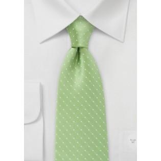 Light Green Tie in Light Green