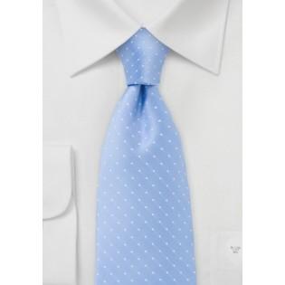 Coastal Blue Polka Dot Tie