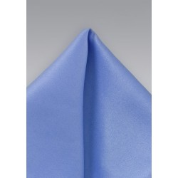 Solid Sky Blue Pocket Square