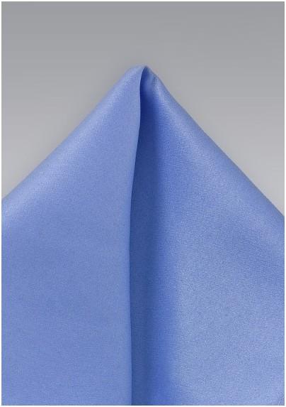 Solid Sky Blue Pocket Square