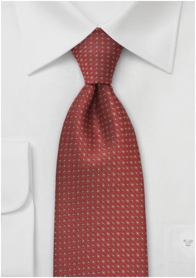 Chestnut Brown Designer Tie