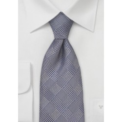 Houndstooth Checkered Tie