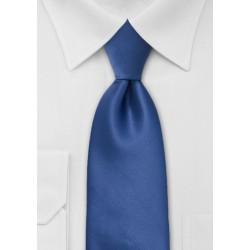 Solid Cobalt Blue Boys Tie