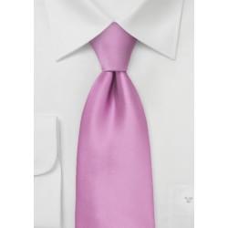 Lilac Color Mens Necktie in XL