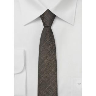 Ultra Slim Stone and Black Tie