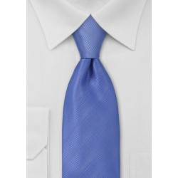 Periwinkle Blue Tie in XL Length