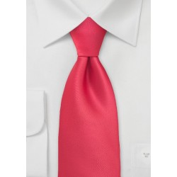 Bright Lollipop Red Tie for Boys
