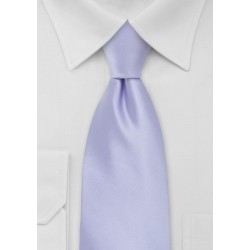 Soft Lavender Solid Colors Tie