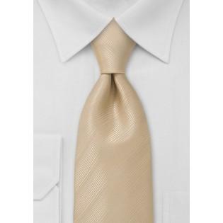 Champagne Beige Necktie Made for Kids