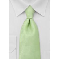 Light Lime Green Kids Necktie