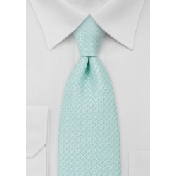 Light Mint Green Kids Necktie